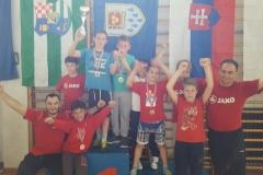 Dva zlata i tri bronce osvojili su hrvači Podravke na turniru Sljemensko podneblje